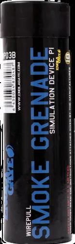 Rauchgranate WP40 mit Reißzündung Blau