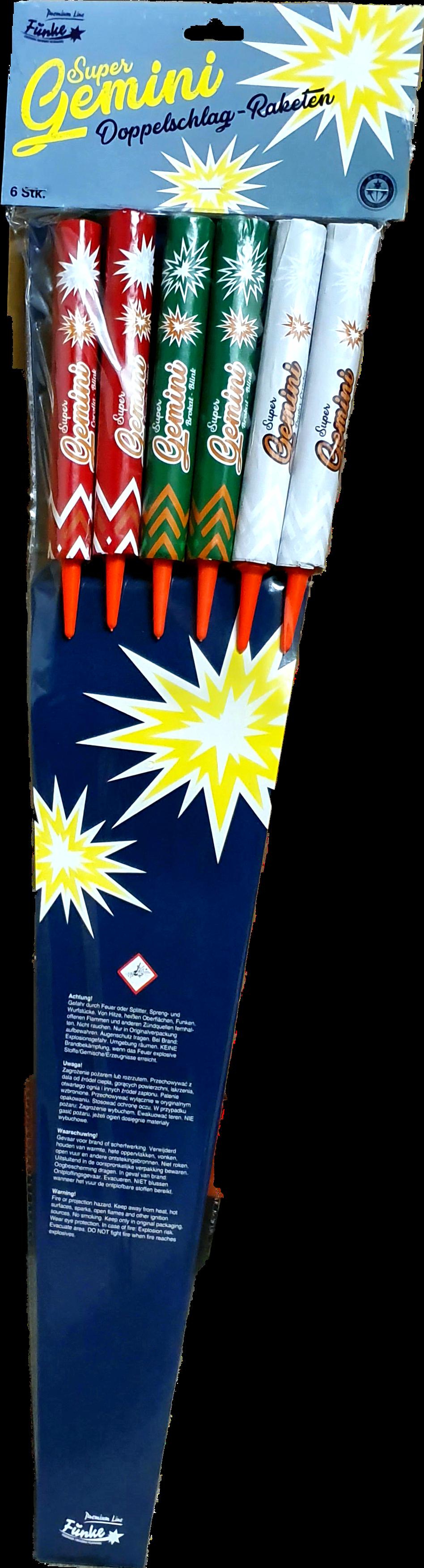 Super Gemini Raketen