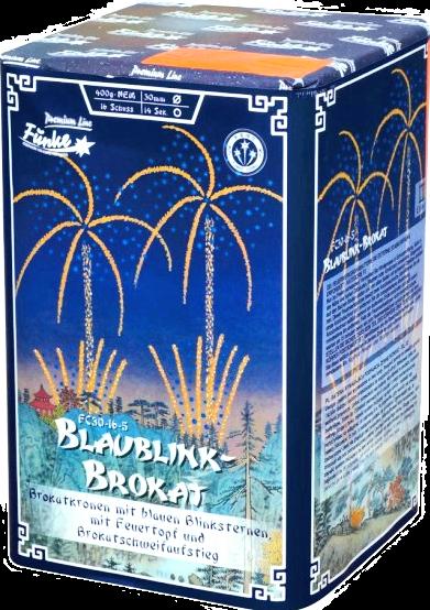 Blaublink- Brokat