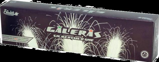 Galeras Silbervulkane