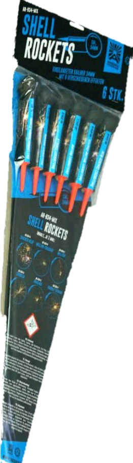 Shellrockets Kal. 34mm