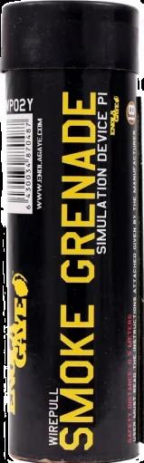 Rauchgranate WP40 mit Reißzündung Gelb