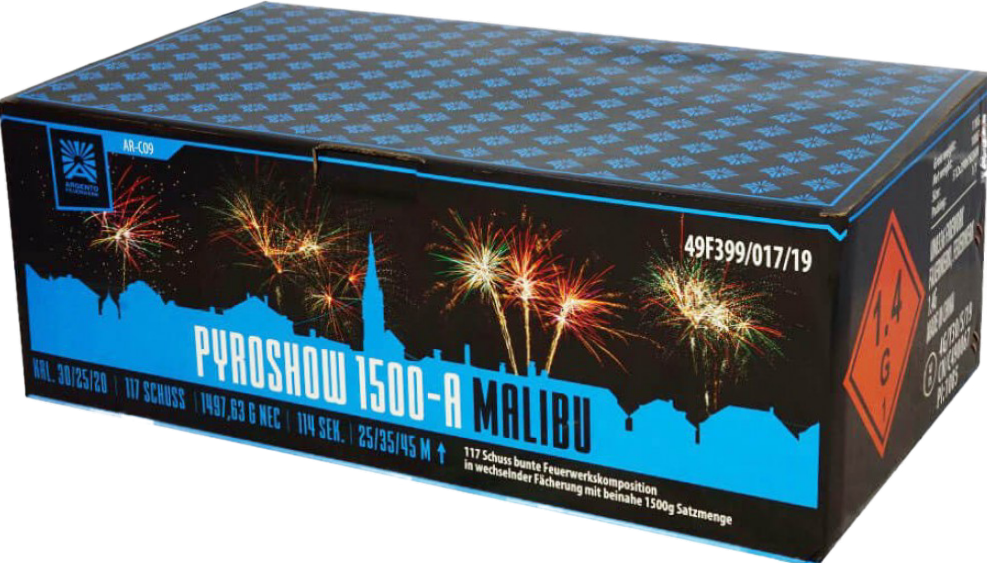 Pyroshow 1500-A Malibu