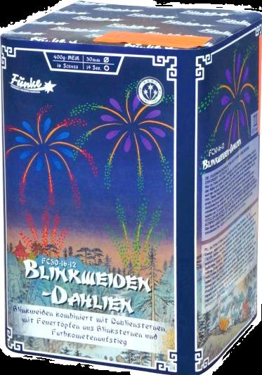 Blinkweiden- Dahlien